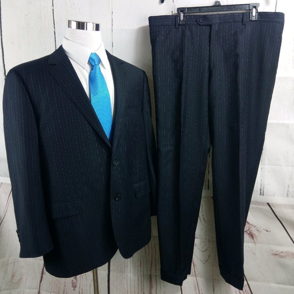 Byron British Style Other - Byron British Style Super 110s Royal Blue 2pc Suit